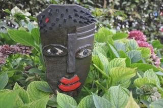Gartenkeramik Keramikmasken